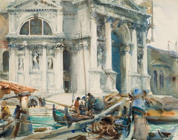 RESIZED.2_ John Singer Sargent, Santa Maria della Salute, 1904