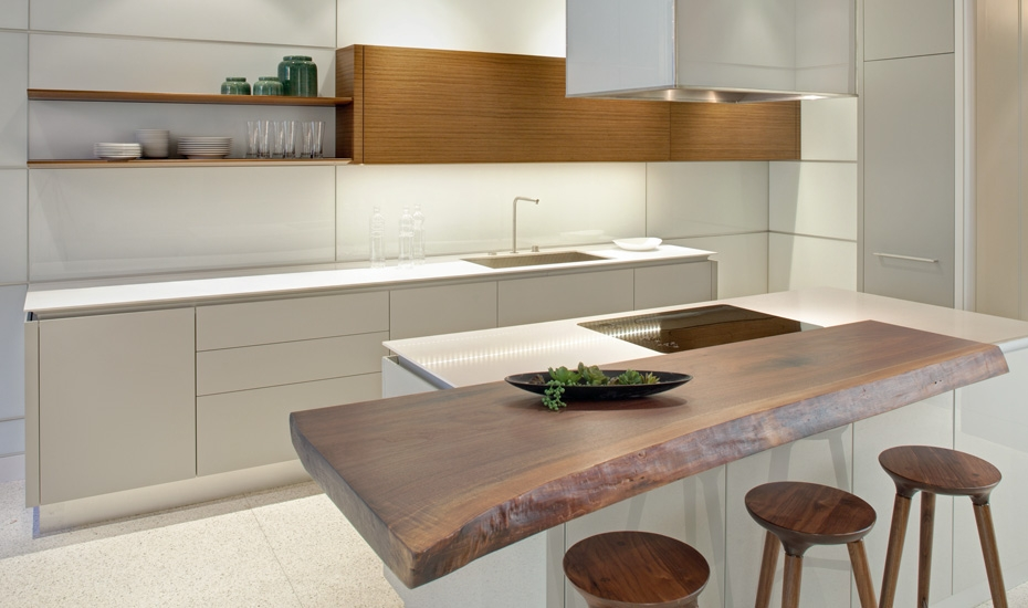 Kitchen trends for 2015 haskells blog rustic materials mixed with contemporary style sleek contemporary kitchens can sometimes become lifeless and cold adding a touch of an organic workwithnaturefo