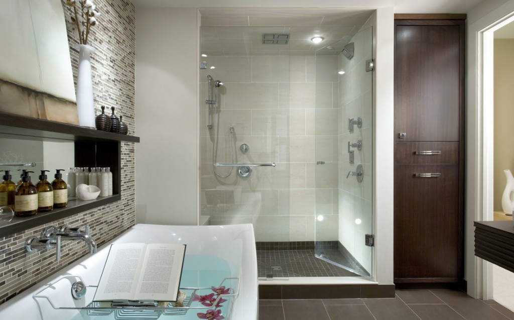 Master bathroom luxury retreat haskell 39 s blog for Candice olson bathroom designs