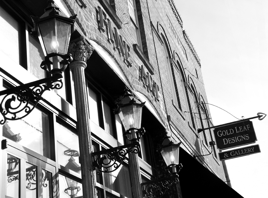 Building Facade - B&W - email