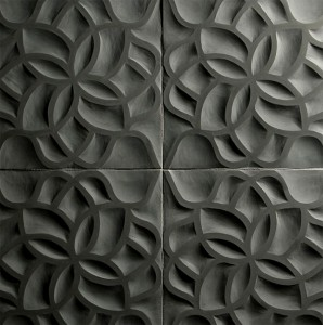artistic tile carved stone