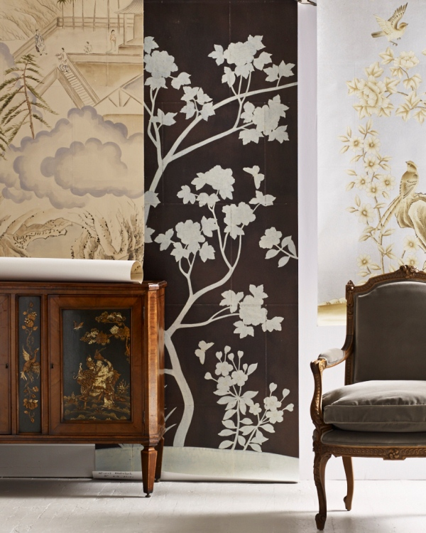 19 Mar Product Spotlight U2013 Hand Painted Wallcoverings