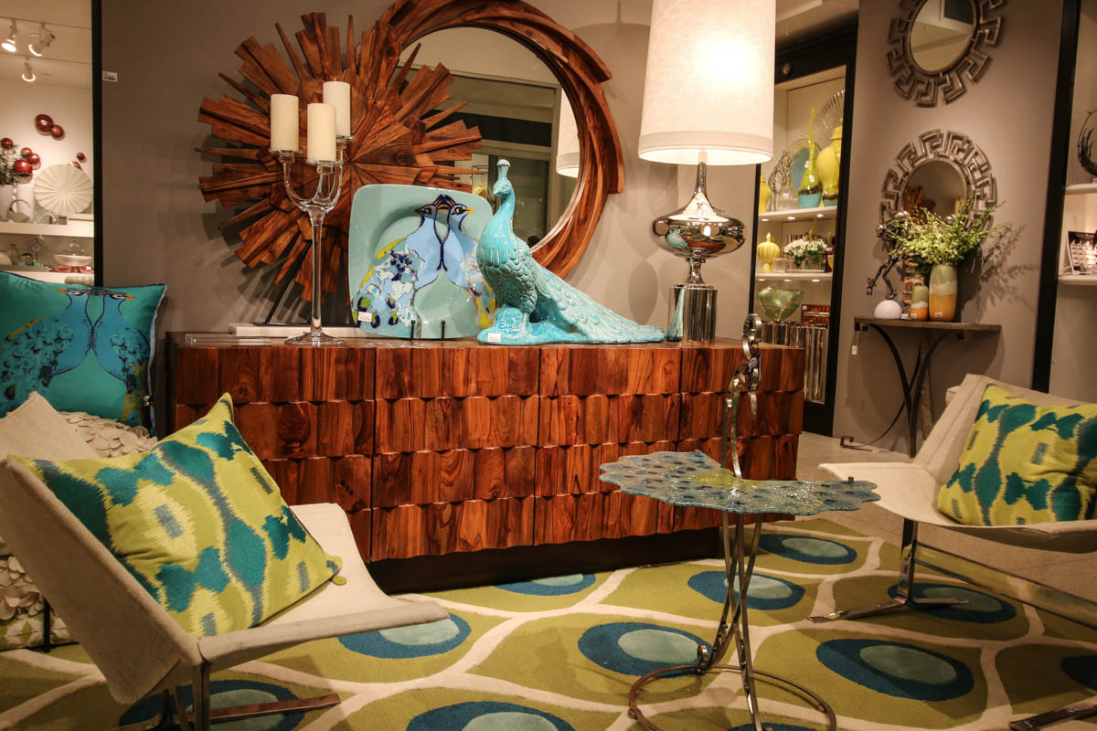 Peacock Colors Living Room High Point Furniture Market Spring 2015 Haskells Blog