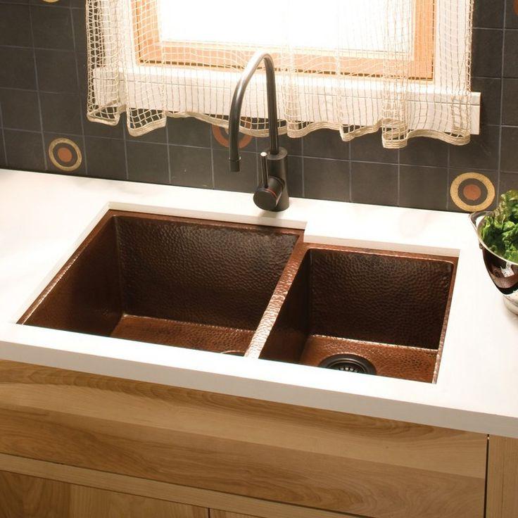 Copperundermountsink. Copper Undermount Sink