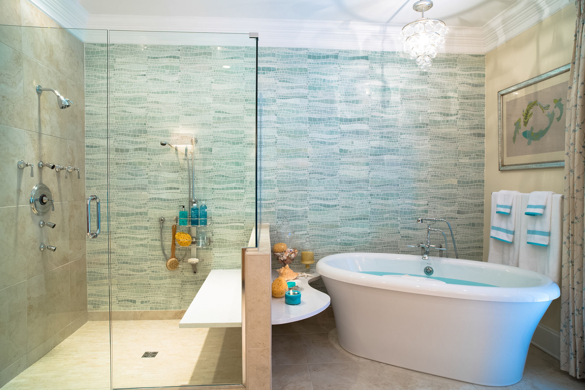 Design Transformation: Spa Bath Retreat- The Reveal - Haskell\'s Blog