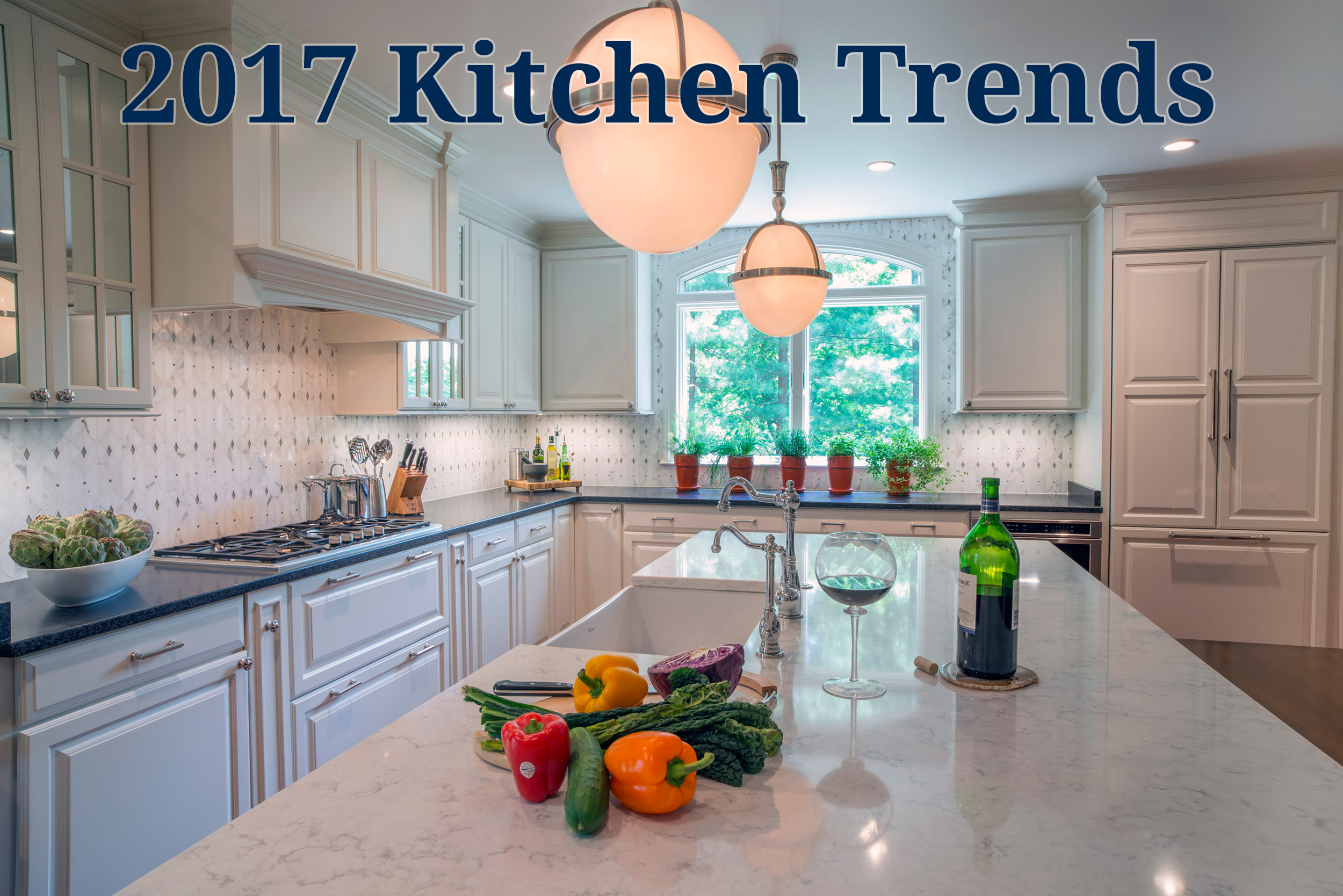 50 Best Kitchen Backsplash Ideas For 2017: Kitchen Trends For 2017