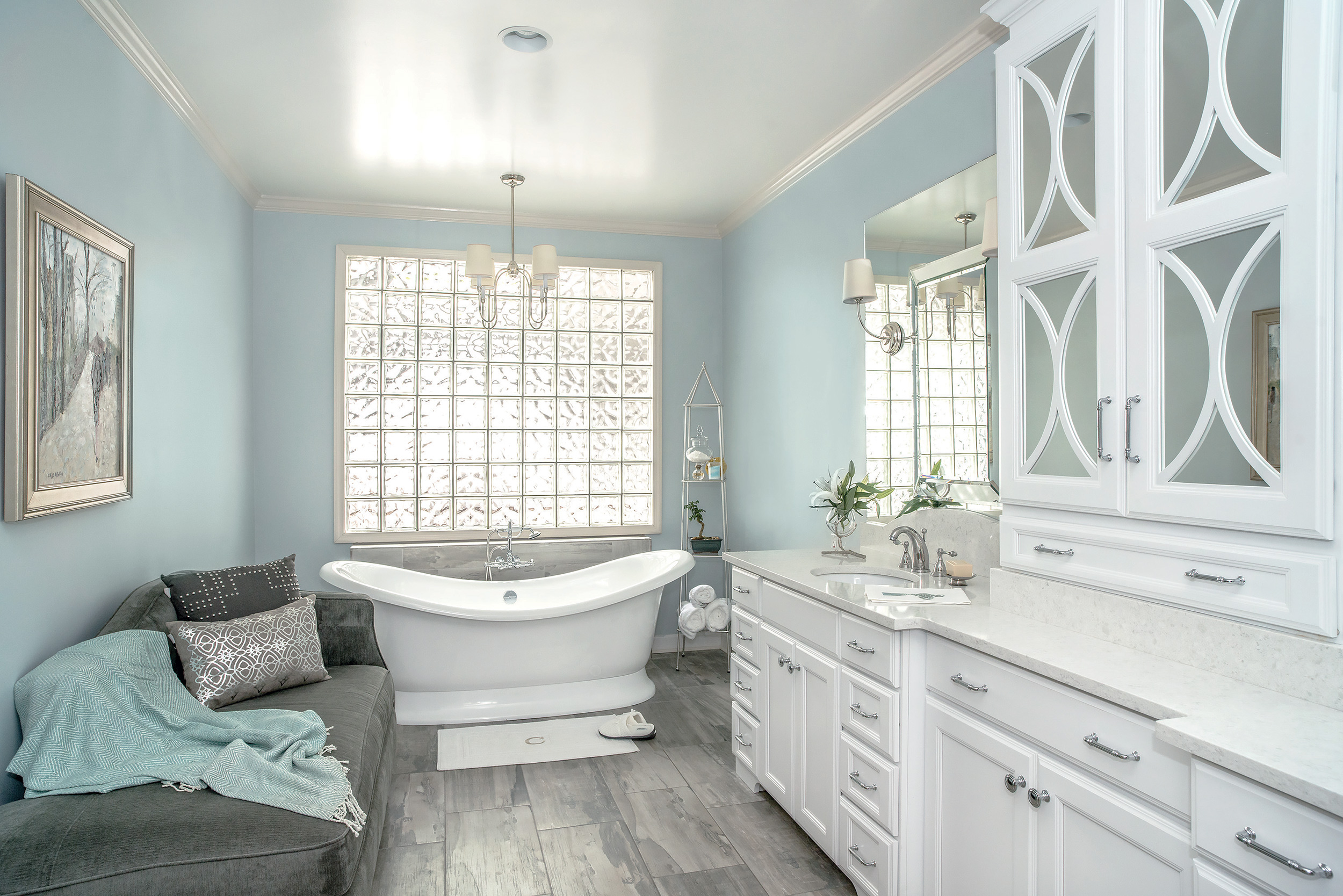 Bathroom trends for 2017 haskell 39 s blog for Bathroom finishes trends