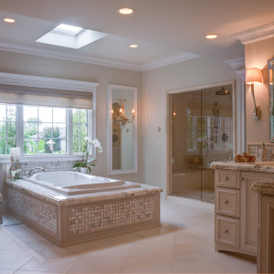 Elegant Master Bathroom-3