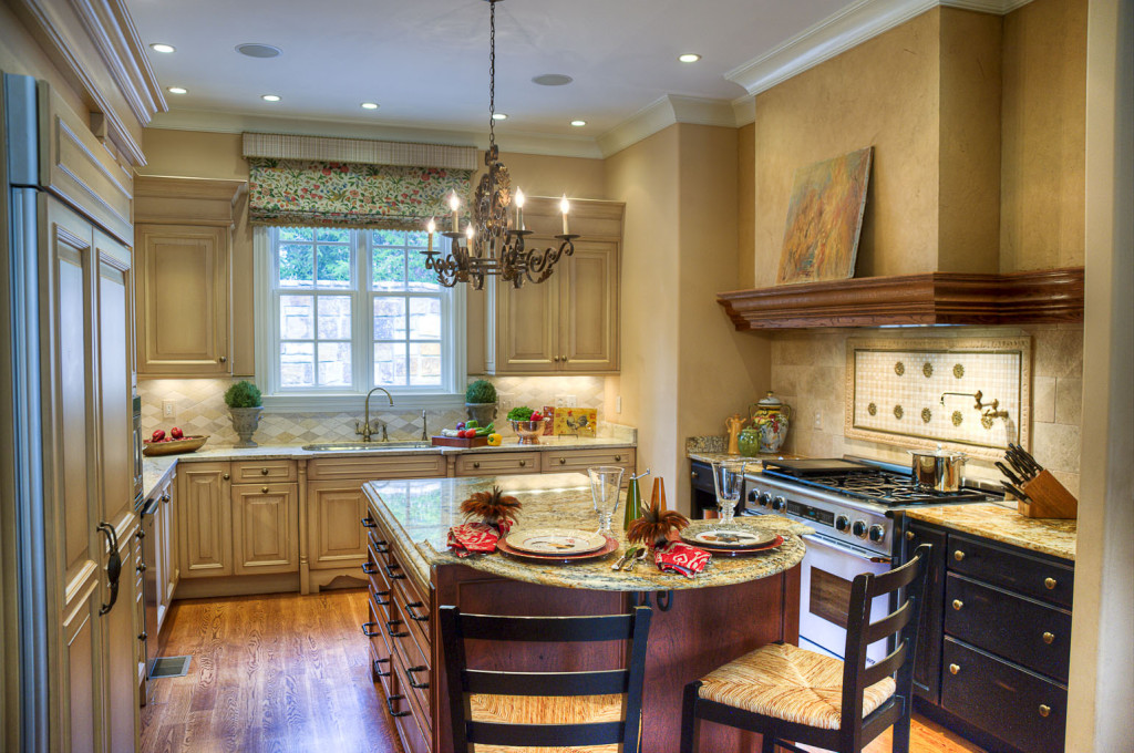 Kitchens haskell interiors for Traditional european kitchen